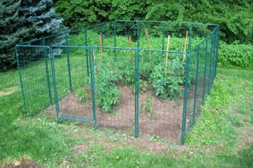 vegetable garden fence rabbits  garden.xcyyxh, Garden idea