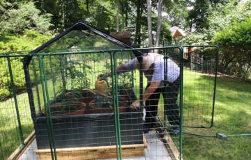 Garden Fencing Protection From Deer Rabbit Proof Critter