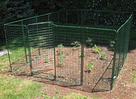 Garden Defender Deer Rabbit Pest Fence Control Protection System
